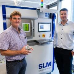 UQ mechanical and materials engineering experts Professor Matthew Dargusch and Dr Michael Bermingham